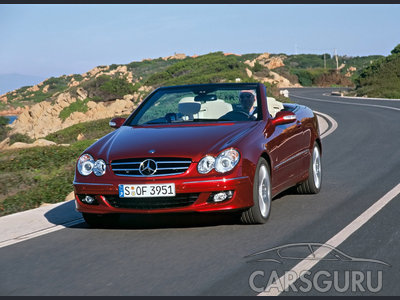 Mercedes-Benz CLK: 11 фото