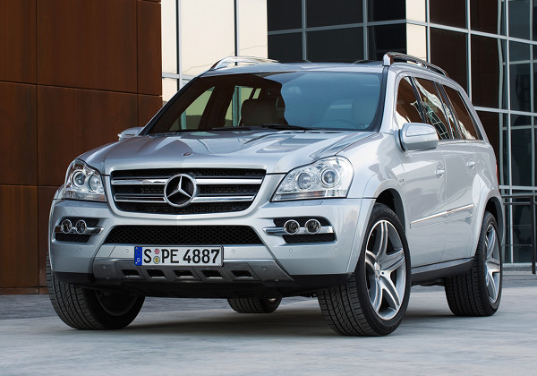 Mercedes-Benz GL: 12 фото