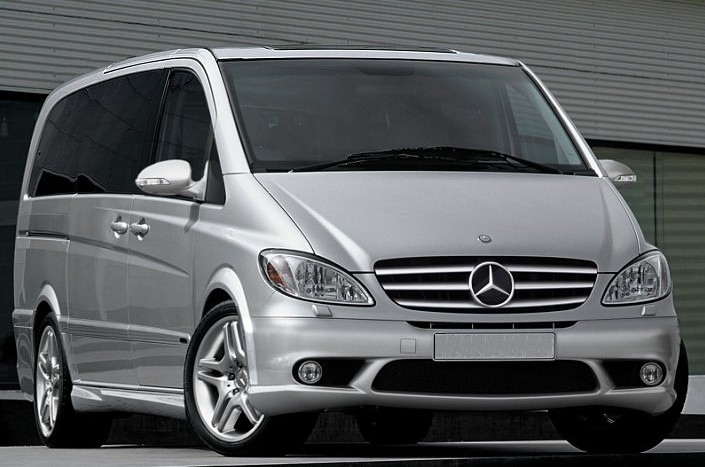 Mercedes-Benz Viano: 12 фото