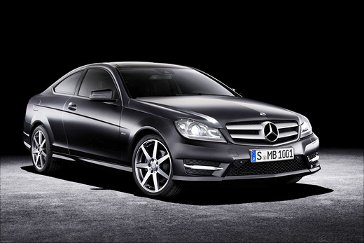 Mercedes C-class Coupe: 4 фото
