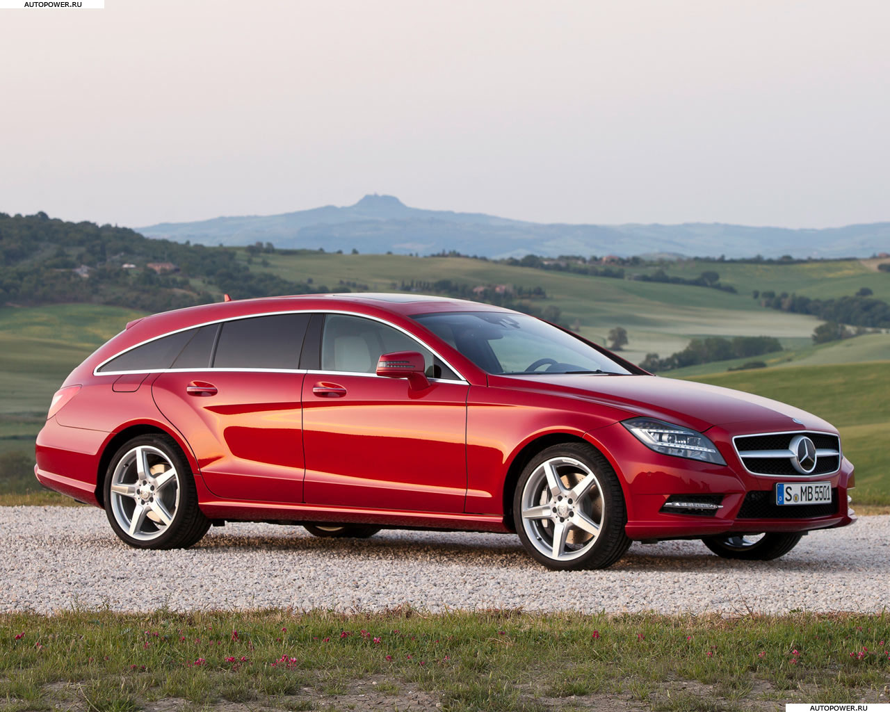 Mercedes CLS-class Shooting Brake: 2 фото