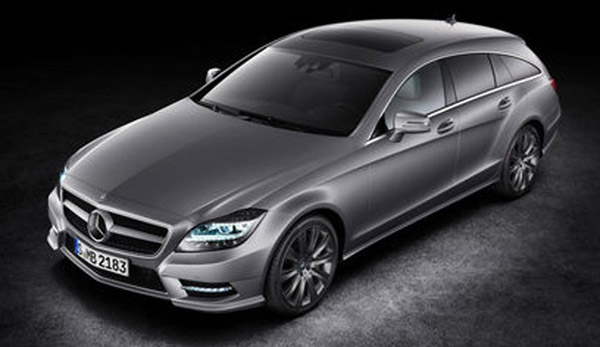 Mercedes CLS-class Shooting Brake: 7 фото