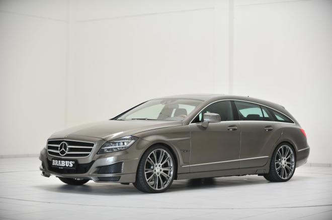 Mercedes CLS-class Shooting Brake: 9 фото