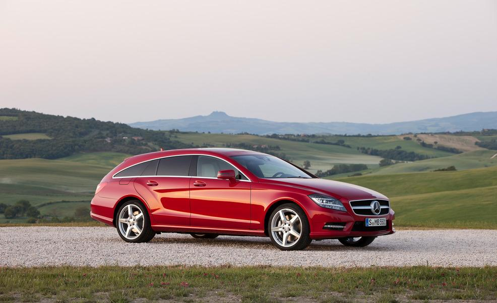 Mercedes CLS-class Shooting Brake: 10 фото