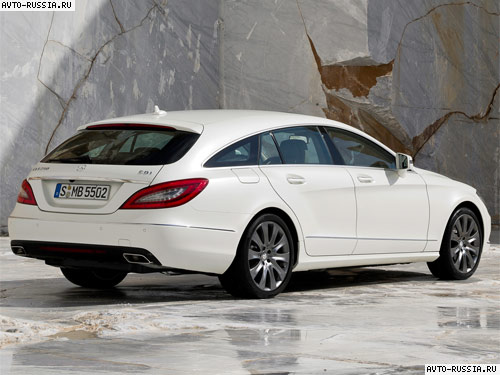 Mercedes CLS-class Shooting Brake: 11 фото