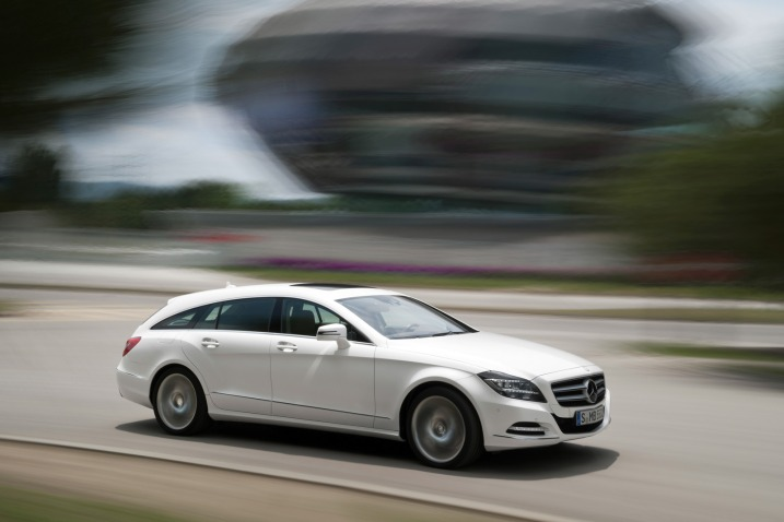Mercedes CLS-class Shooting Brake: 12 фото