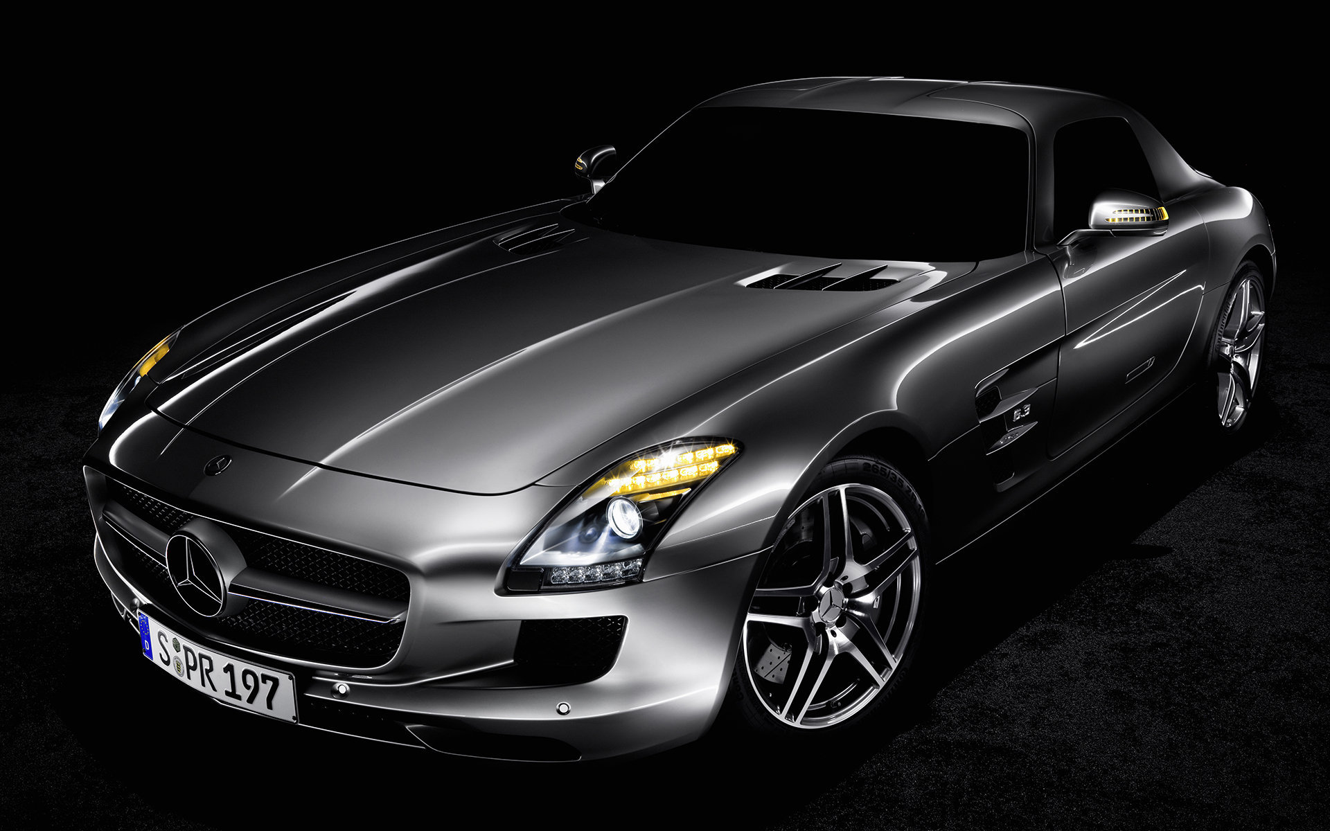 Mercedes sls amg 07 for Silverlit mercedes benz sls amg