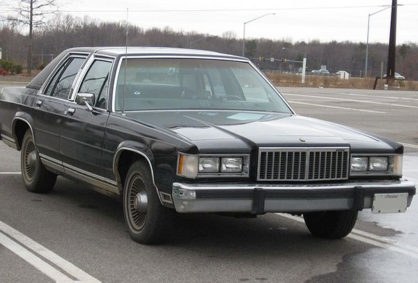 Mercury Grand Marquis: 4 фото