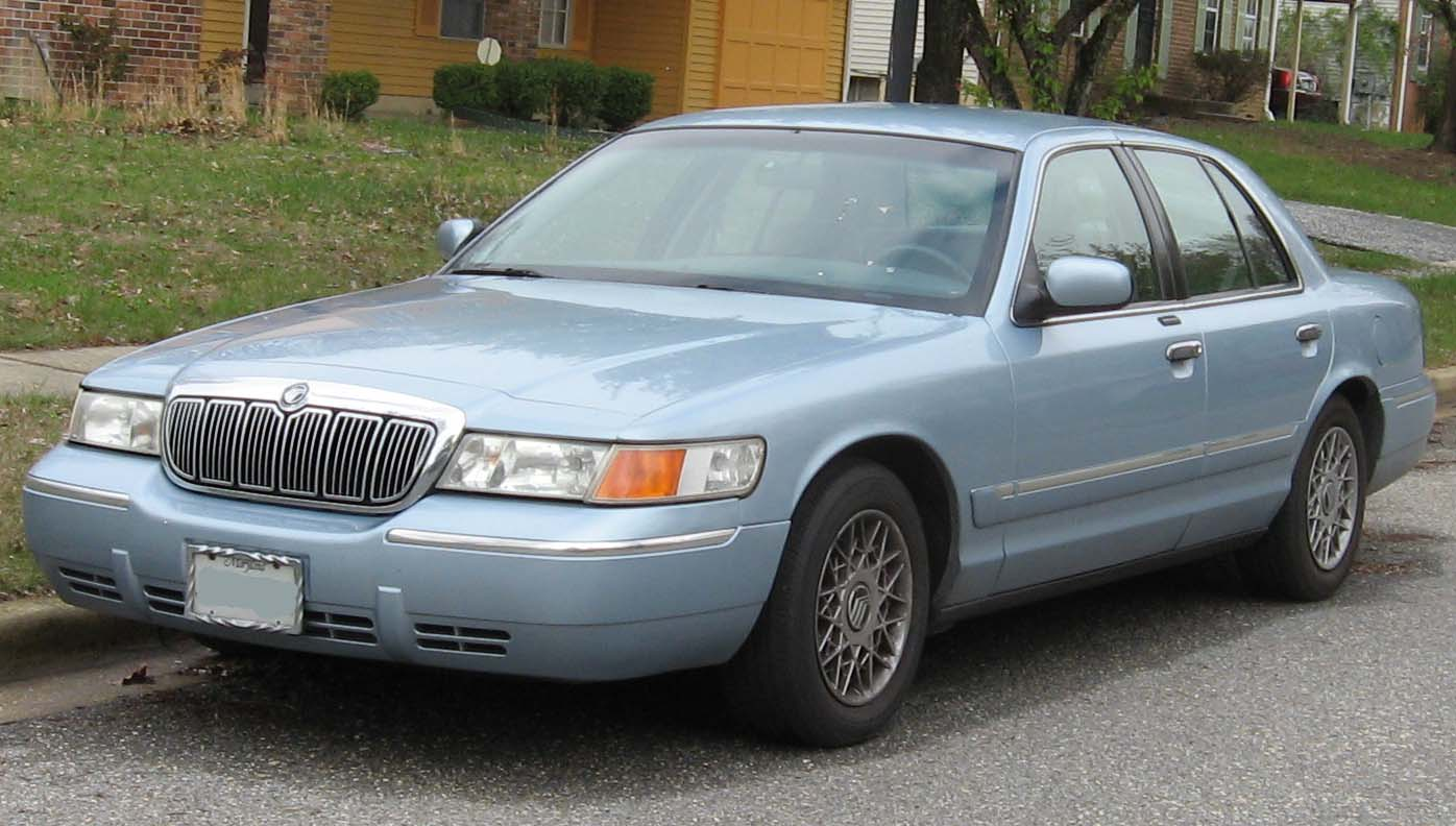 Mercury Grand Marquis: 11 фото