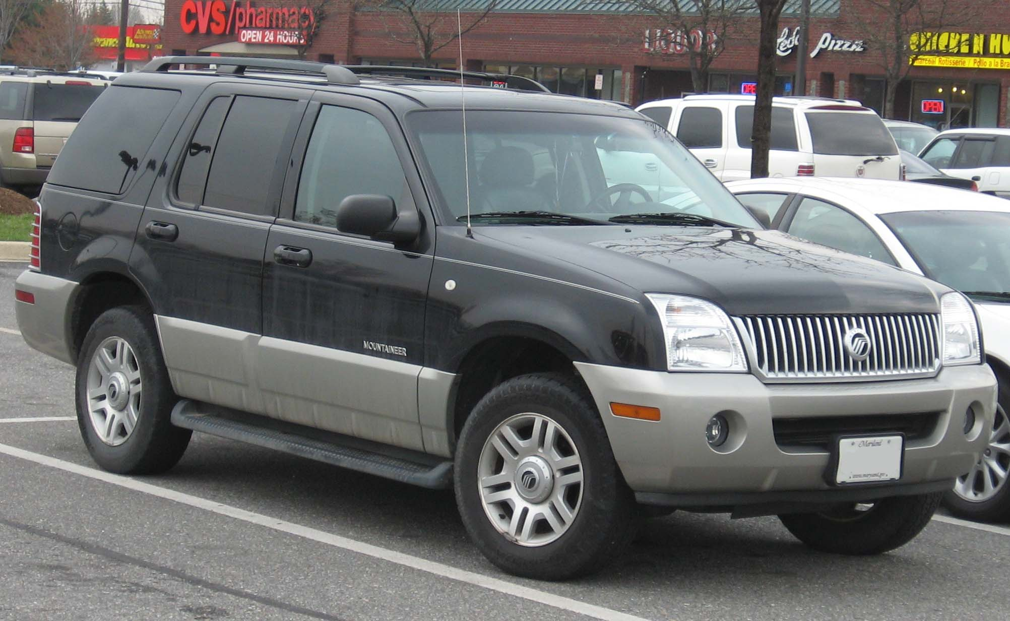 Mercury Mountaineer: 06 фото