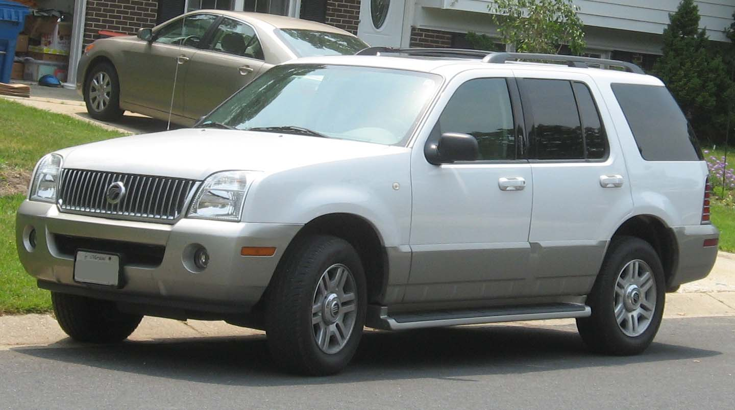 Mercury Mountaineer: 11 фото