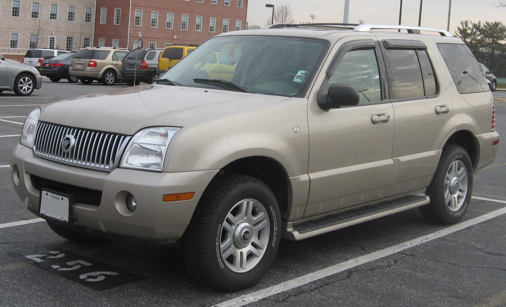 Mercury Mountaineer: 12 фото