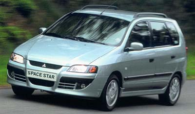 Mitsubishi Space Star: 2 фото