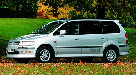 Mitsubishi Space Wagon: 05 фото