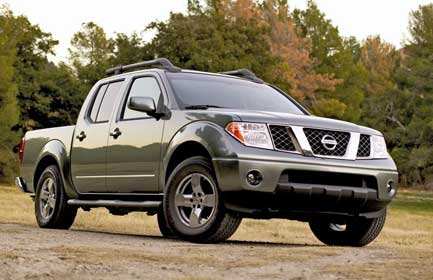 Nissan Frontier I: 4 фото