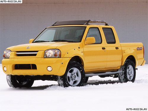 Nissan Frontier I: 10 фото