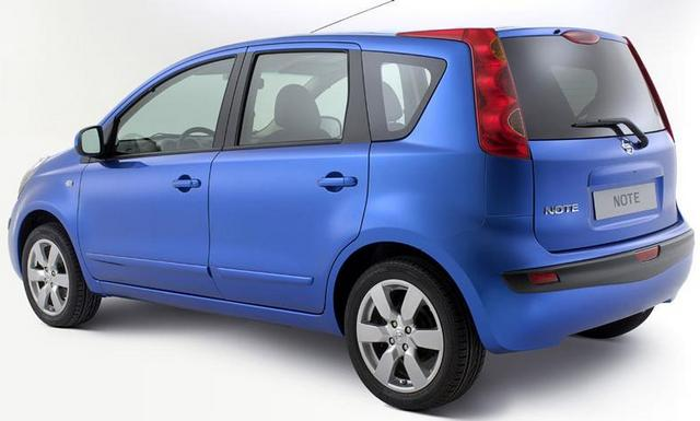 Nissan Note: 10 фото