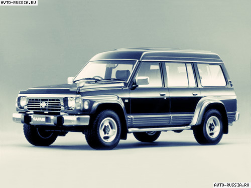 Nissan Safari: 4 фото