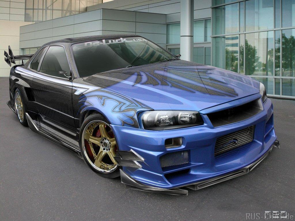 Nissan GT-R Автомобили Nissan/Datsun.