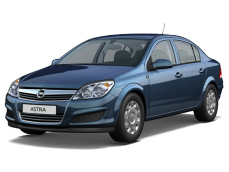 Opel Astra Family Sedan: 4 фото