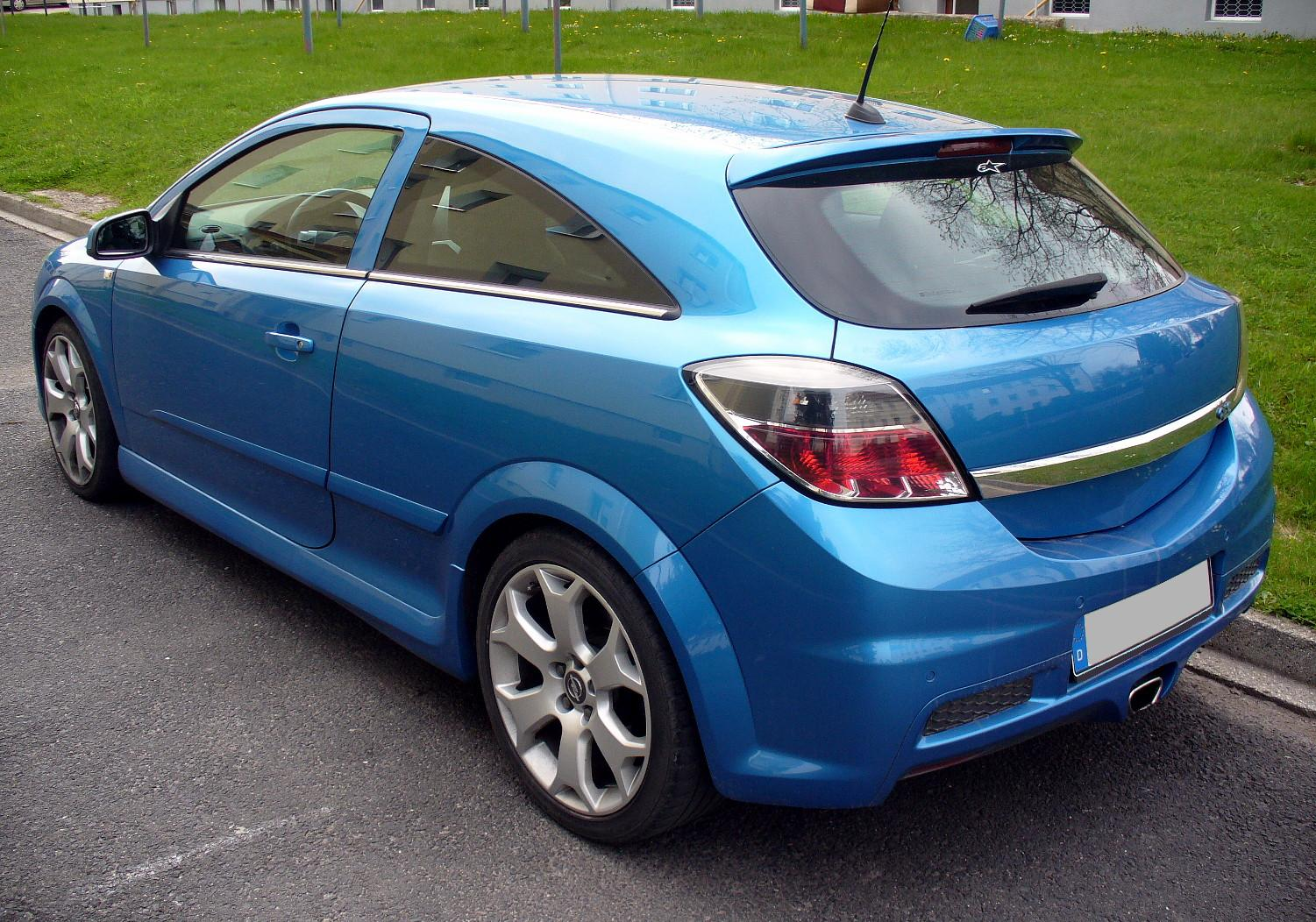Opel Astra H OPC: 02 фото