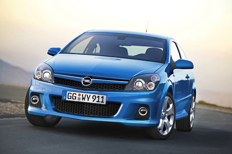 Opel Astra H OPC: 03 фото