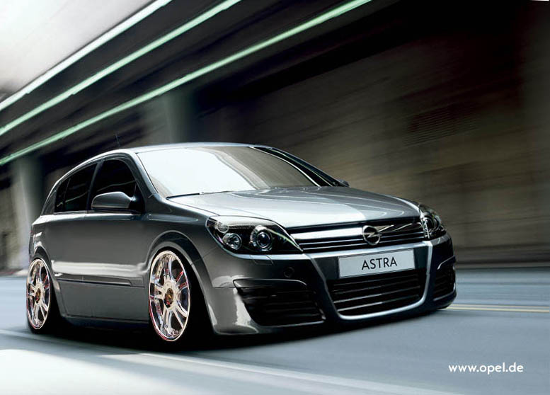 Opel Astra H OPC: 05 фото