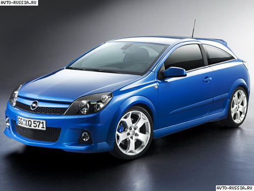 Opel Astra H OPC: 06 фото
