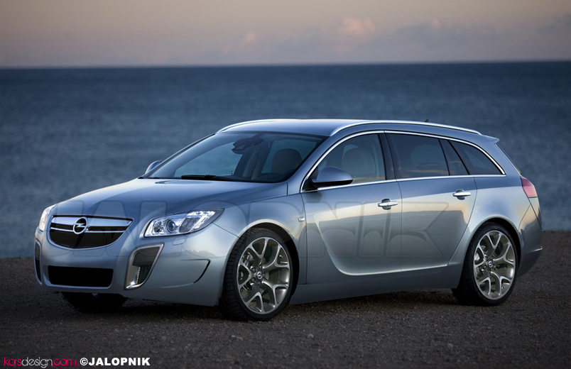 Opel Insignia OPC Sports Tourer: 06 фото
