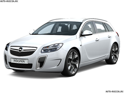 Opel Insignia OPC Sports Tourer: 10 фото