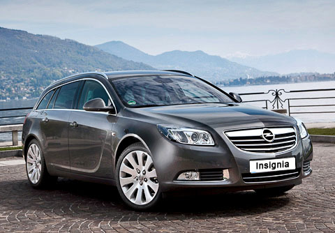 Opel Insignia Sports Tourer: 05 фото