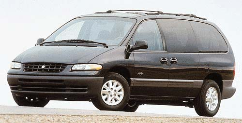 Plymouth Grand Voyager: 9 фото