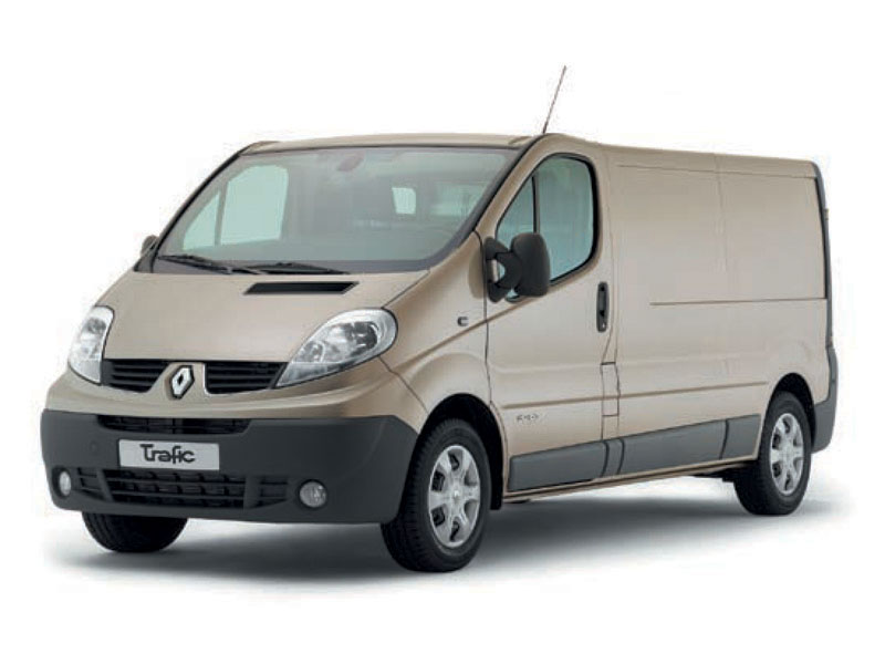 Renault Trafic Fourgon: 2 фото