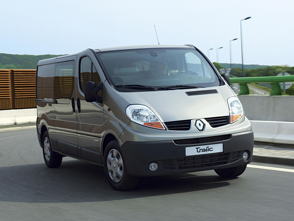 Renault Trafic Fourgon: 7 фото