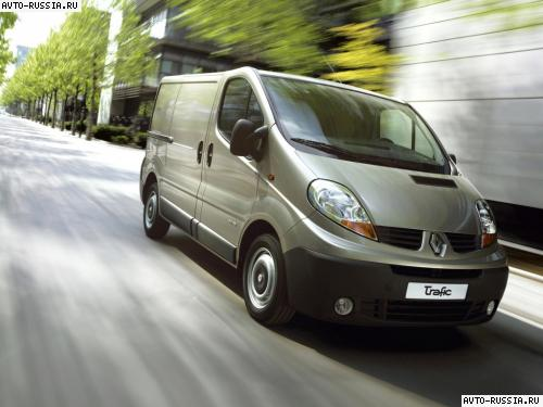 Renault Trafic Fourgon: 8 фото