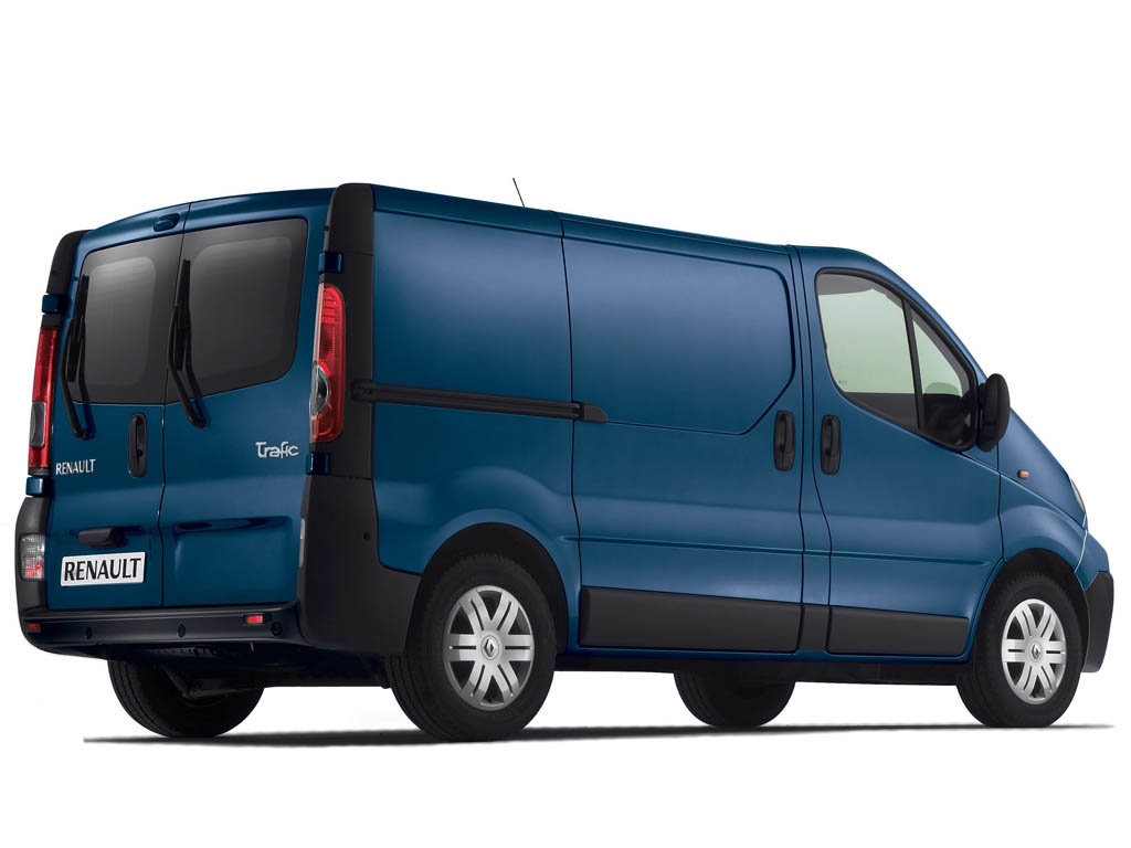 Renault Trafic Fourgon: 9 фото