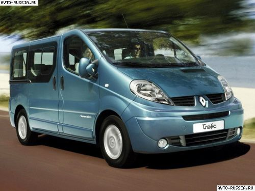 Renault Trafic: 05 фото