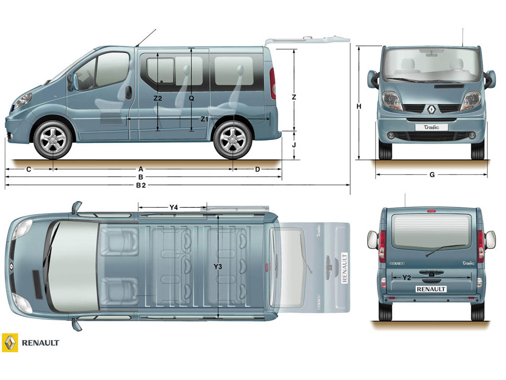 Renault Trafic: 11 фото