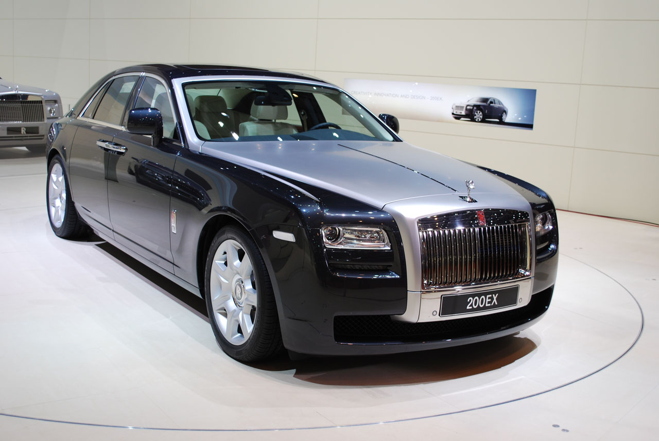 Rolls Royce Ghost: 02 фото