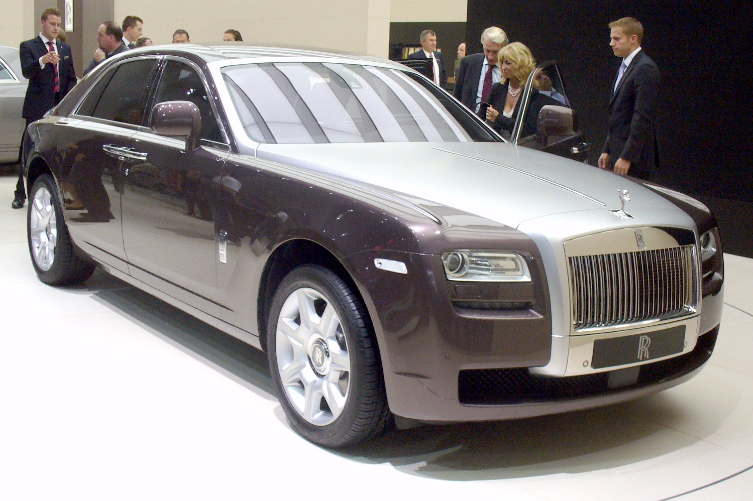 Rolls Royce Ghost - 1499 x 998, 05 из 20