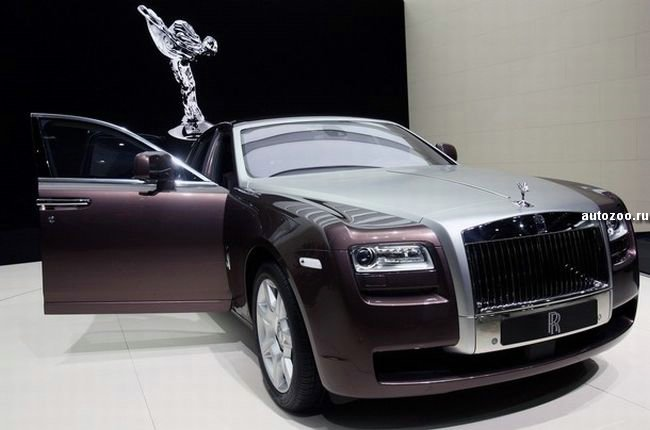 Rolls Royce Ghost: 7 фото