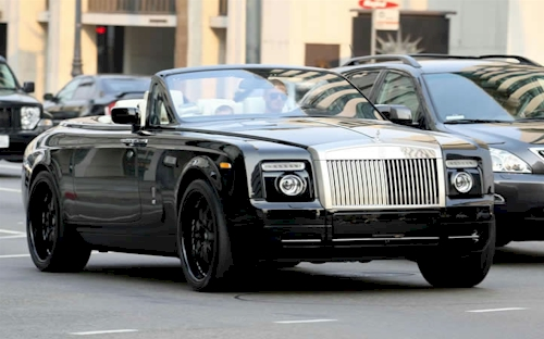 Rolls-Royce Phantom Drophead Coupe: 01 фото