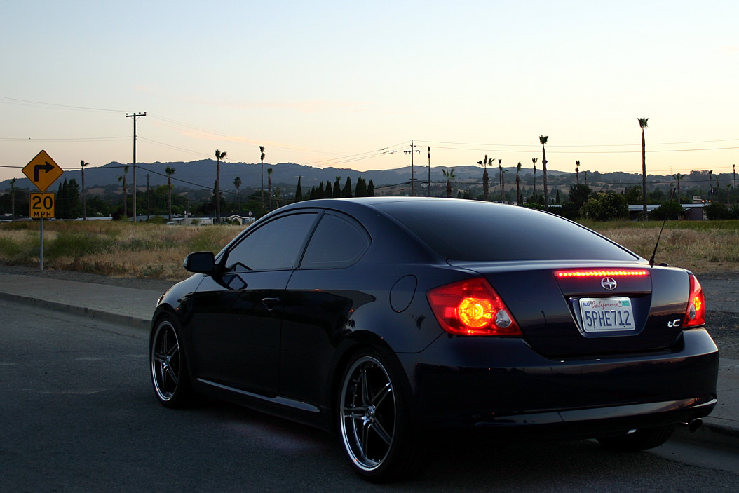 Scion tC I: 09 фото