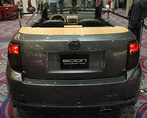 Scion xD: 08 фото