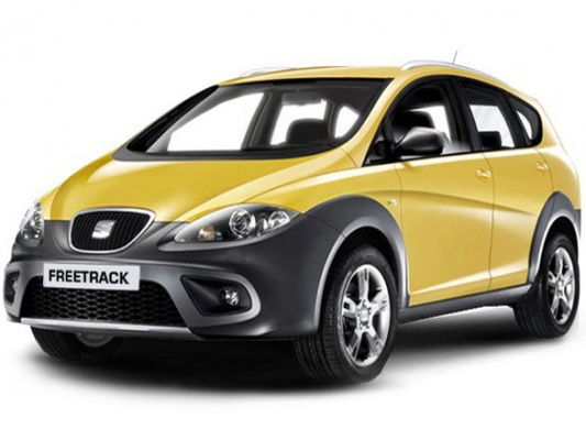 SEAT Altea Freetrack: 10 фото