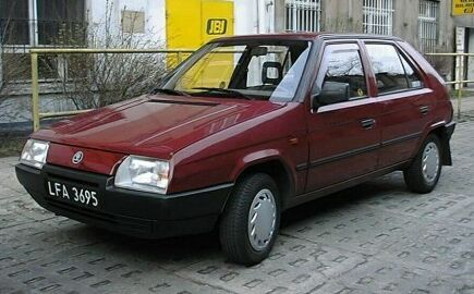 Skoda Favorit: 5 фото