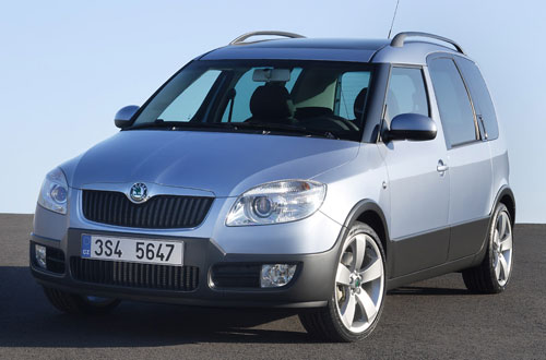Skoda Roomster Scout: 2 фото