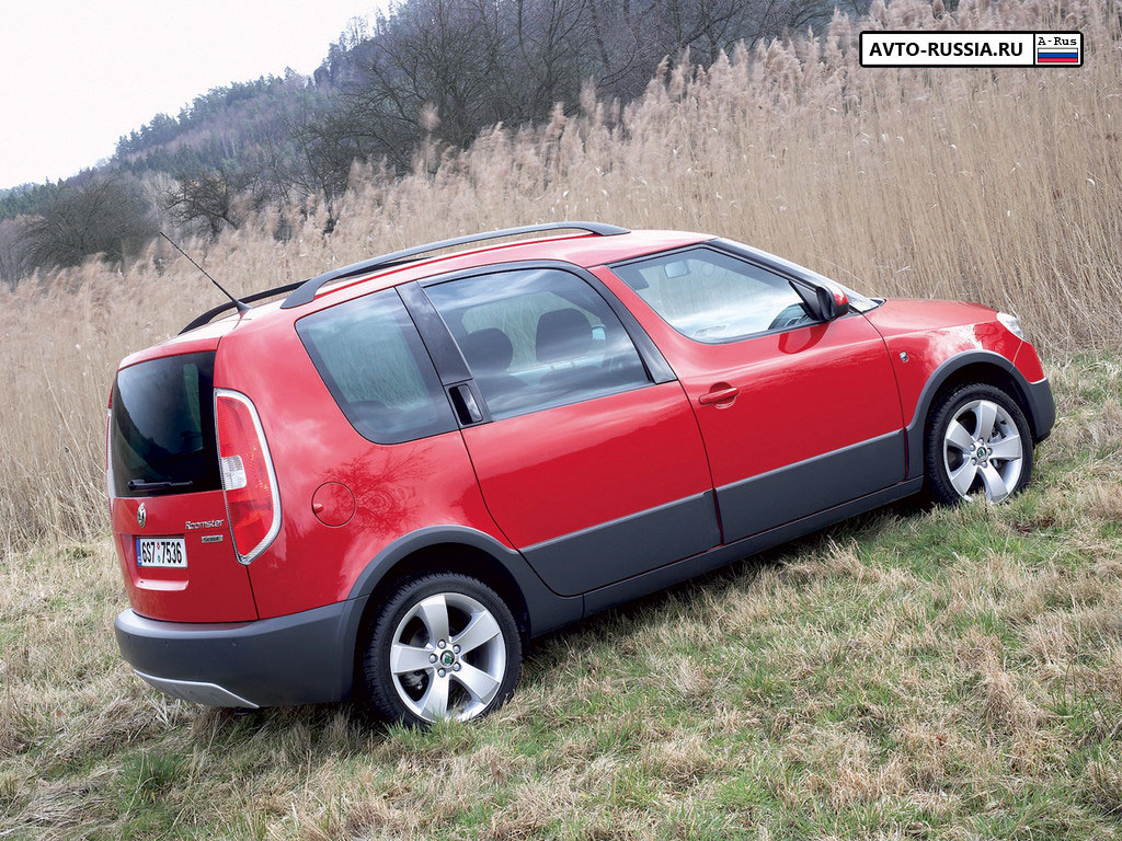 Skoda Roomster Scout - 1024 x 768, 08 из 11