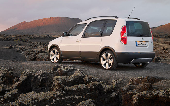Skoda Roomster Scout: 9 фото