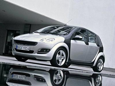Smart Forfour: 05 фото